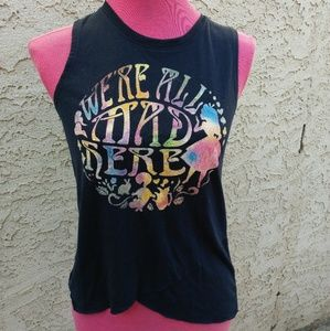 Disney's Alice in wonderland sleeveless top